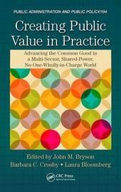 Creating Public Value in Practice