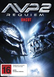 AVP2: Aliens Vs Predator - Requiem on DVD image