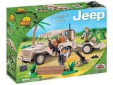 Cobi: Small Army - Willys MB with Mortar (Desert)