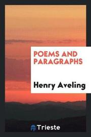 Poems and Paragraphs by Henry Aveling image