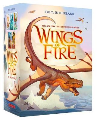 Wings of Fire 1-5 Boxed Set by Tui,T Sutherland image