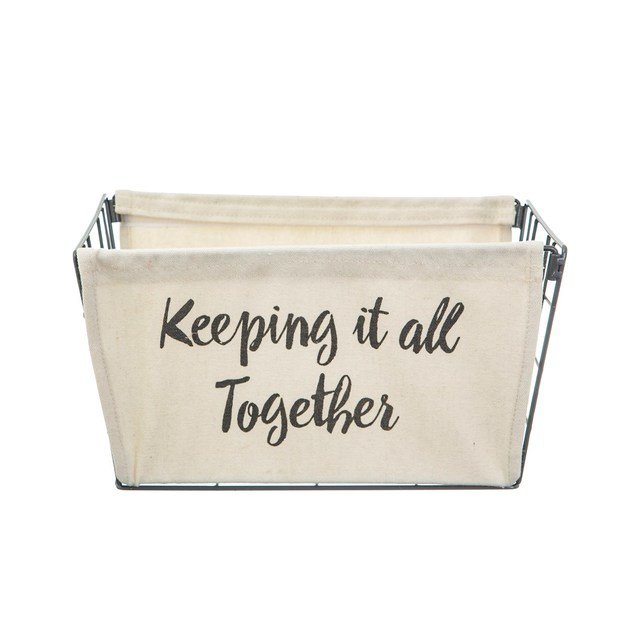 Sass & Belle: Wire Storage Basket - Keeping It All Together