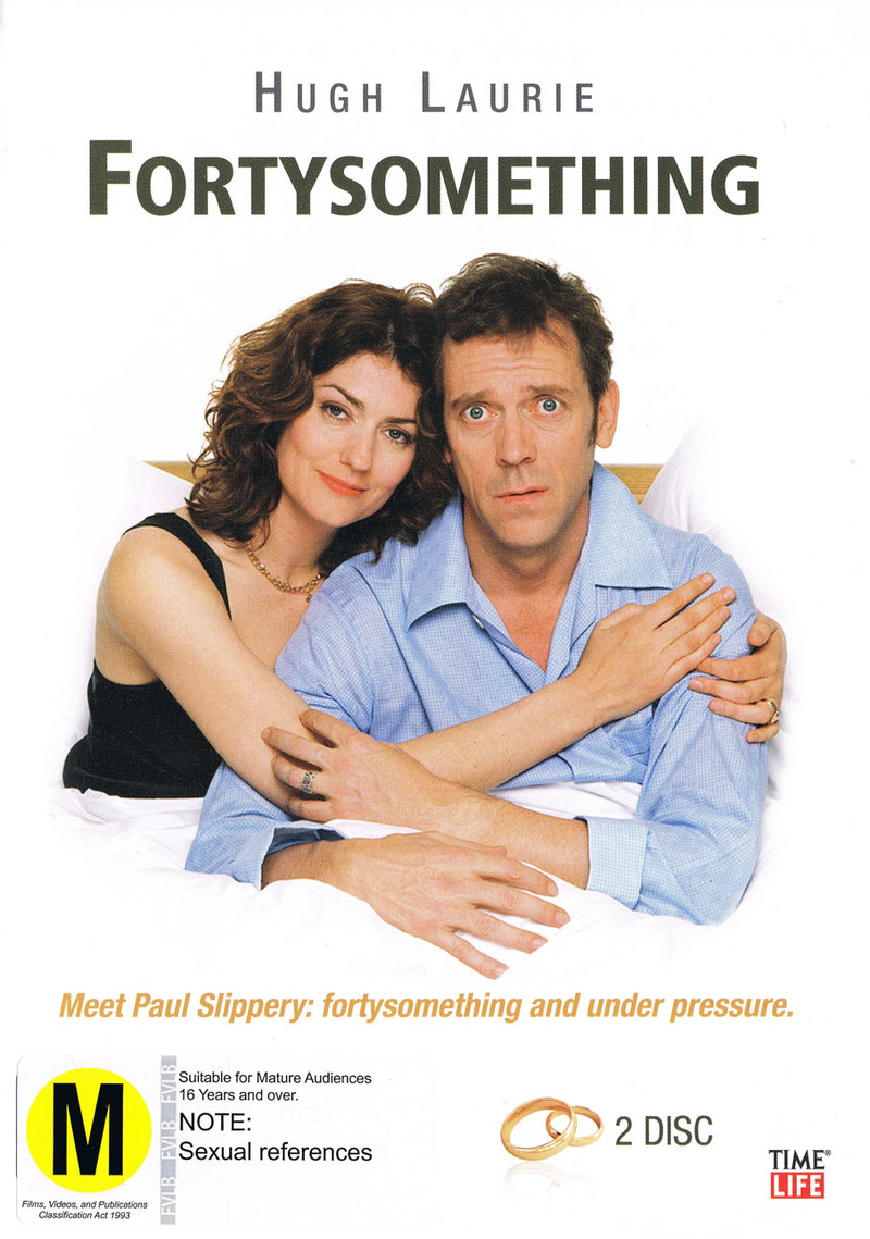 Fortysomething on DVD image