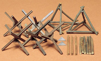 Tamiya Barricade Set 1:35 Model Kit image