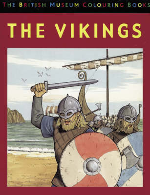 The British Museum Colouring Book of The Vikings
