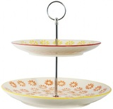 General Eclectic Cake Stand - Daisy