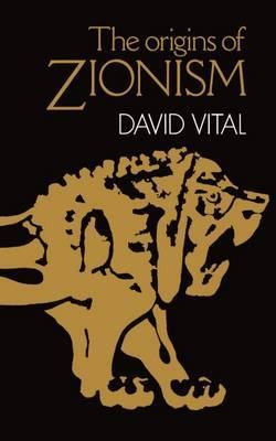 The Origins of Zionism by David Vital image