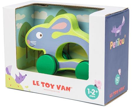 Le Toy Van: Petilou - Hunny-Bunny on Wheels image