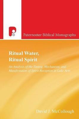 Ritual Water, Ritual Spirit by David J McCollough