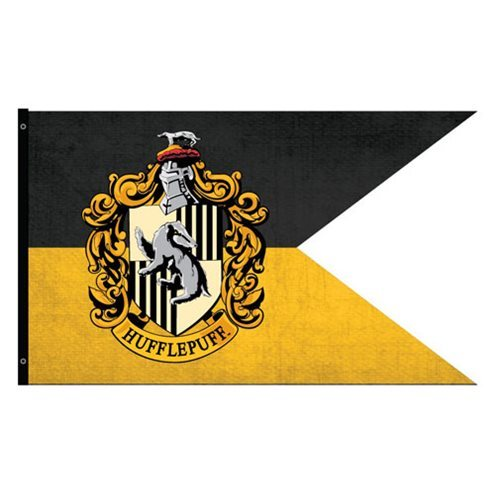 Harry Potter - Hufflepuff Outdoor Flag image