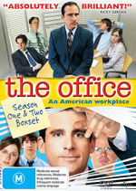 The Office (American Series) - Season 1 And 2 (5 Disc Set) on DVD