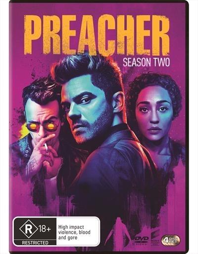 Preacher Season 2 on DVD image