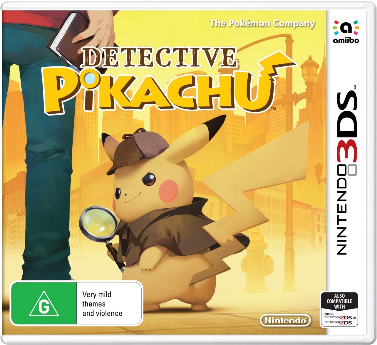 Detective Pikachu for Nintendo 3DS image