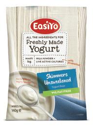 EasiYo Nutrition Range Skimmers