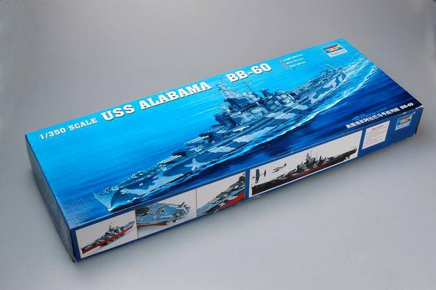 Trumpeter 1/350 USS ALABAMA BB-60 - Scale Model