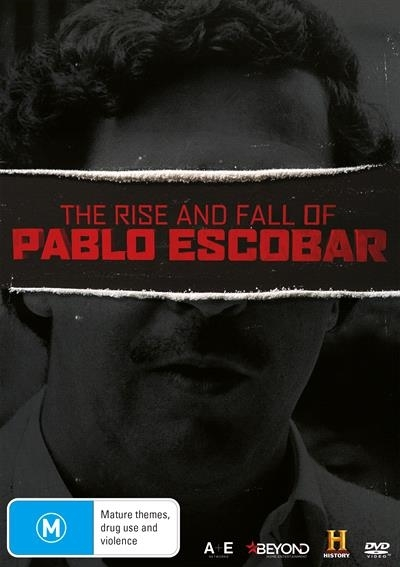 The Rise & Fall Of Pablo Escobar on DVD image