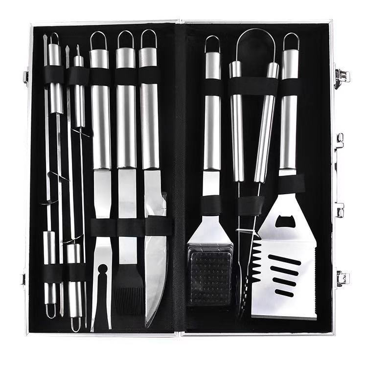 BBQ Grill Tool Set - 10-Piece (With Aluminium Carry Case) image