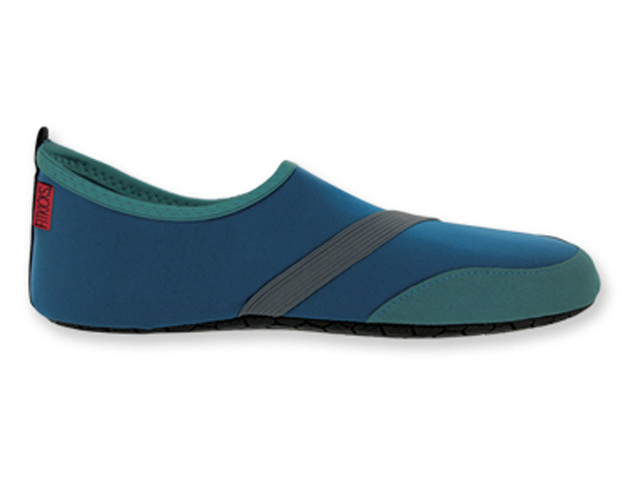 Fitkicks: Mens Foldable Footwear - Navy (Small)