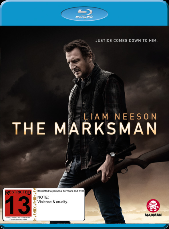 The Marksman on Blu-ray