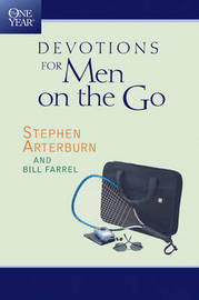 The One Year Devotions for Men on the Go by Stephen Arterburn image