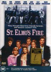 St. Elmos Fire on DVD