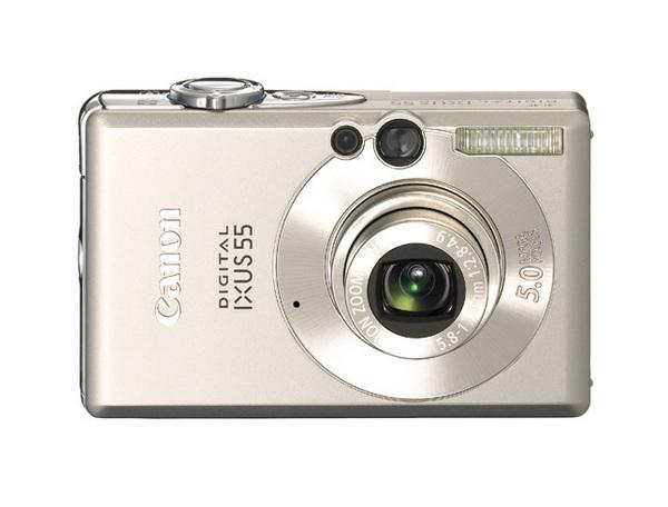 Canon Digital Camera IXUS 55 +256Sd