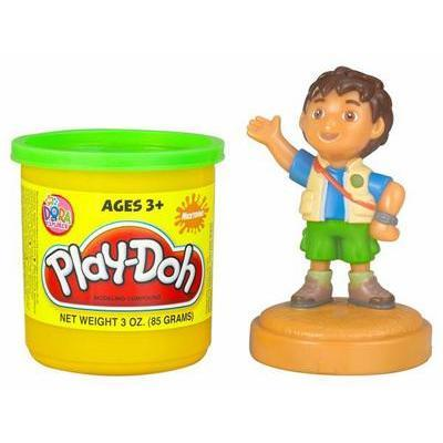 Play-doh Dora the Explorer stampers: Deigo