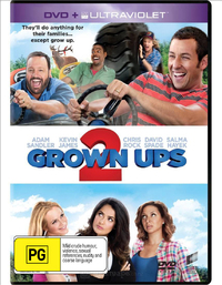 Grown Ups 2 on DVD