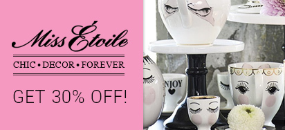 30% OFF Miss Étoile Teaware!