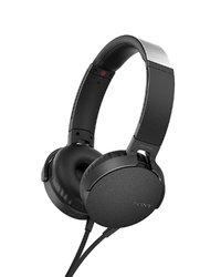 Sony MDR-XB550AP Overhead Extra Bass Headphones - Black