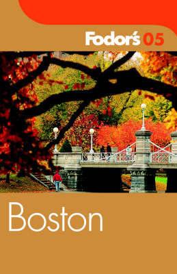 Fodor's Boston by Fodor's image