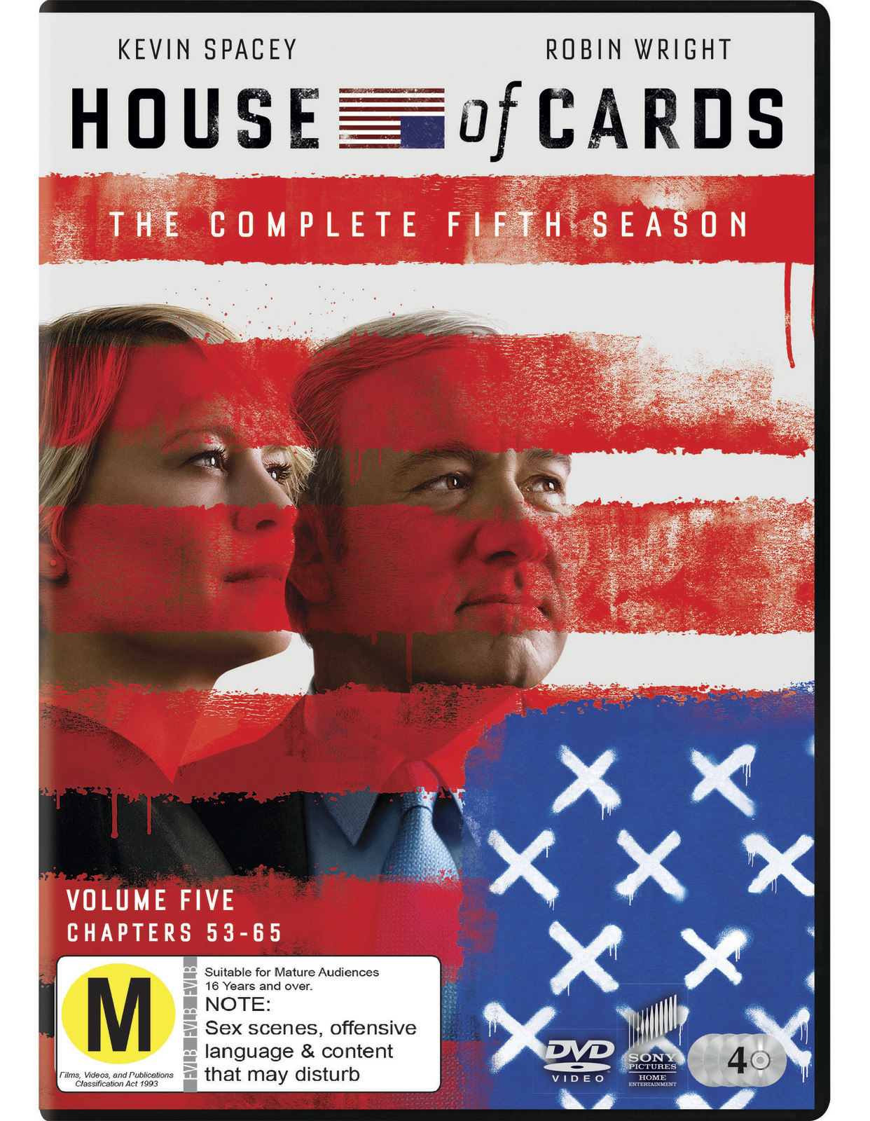 House of Cards - The Complete Fifth Season on DVD image