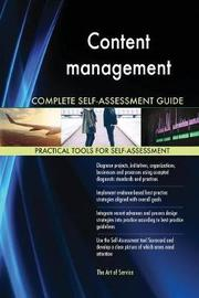 Content management Complete Self-Assessment Guide by Gerardus Blokdyk image