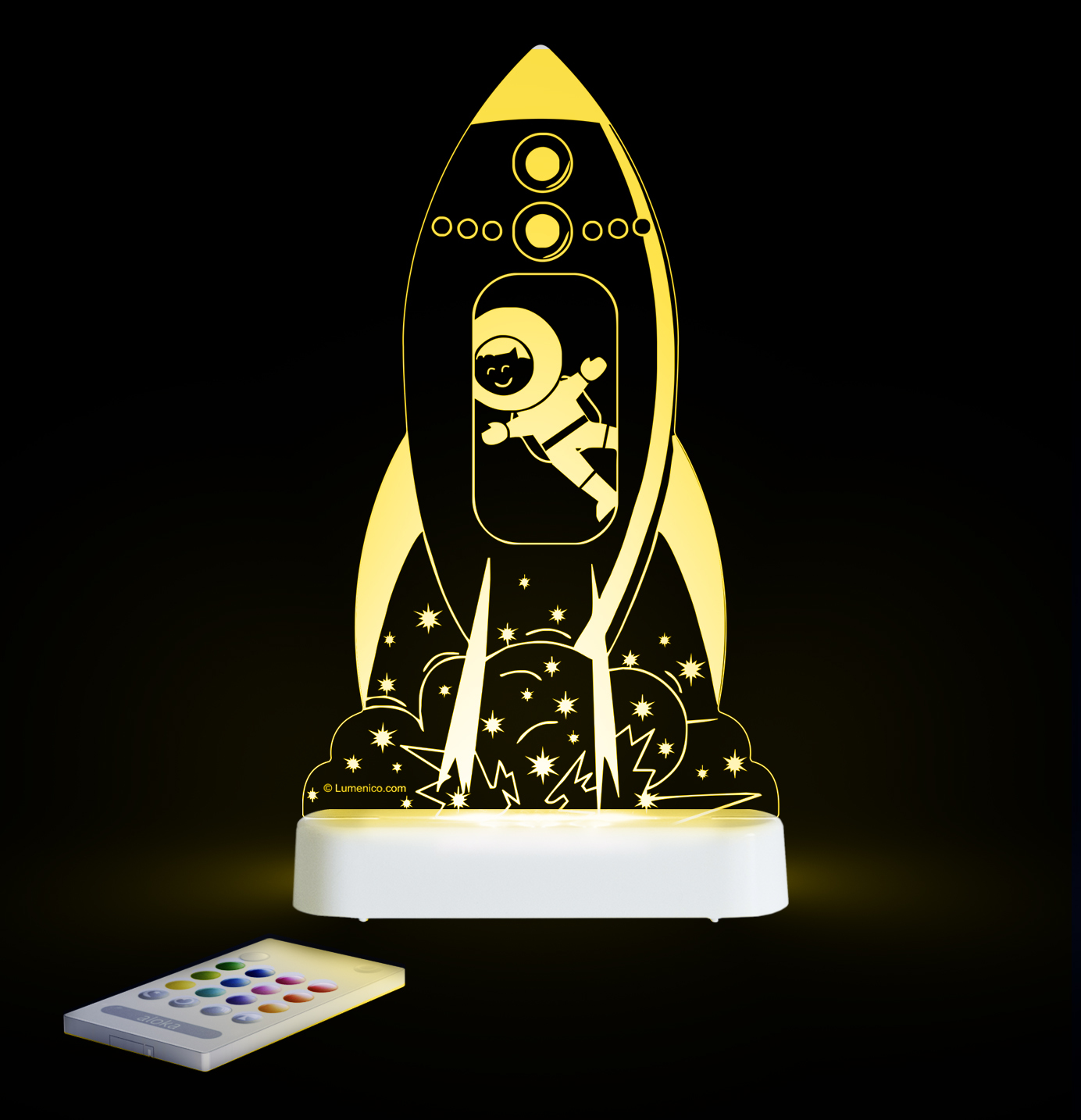 Aloka: Night Light - Rocket image