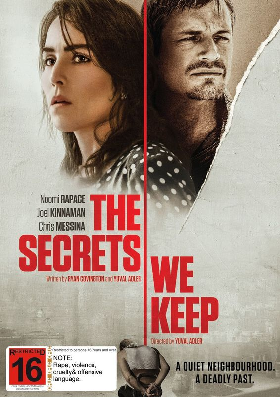 The Secrets We Keep on DVD
