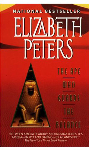 The Ape Who Guards the Balance (Amelia Peabody Mystery #10) by Elizabeth Peters image