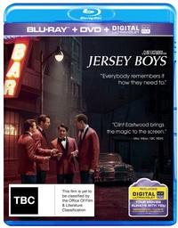 Jersey Boys on DVD, Blu-ray, UV