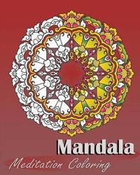 Mandala Meditation Coloring by Peter Raymond image
