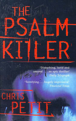 The Psalm Killer by Christopher Petit image