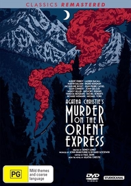 Murder on the Orient Express (1974) on DVD image