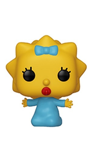 The Simpsons - Maggie Pop! Vinyl Figure