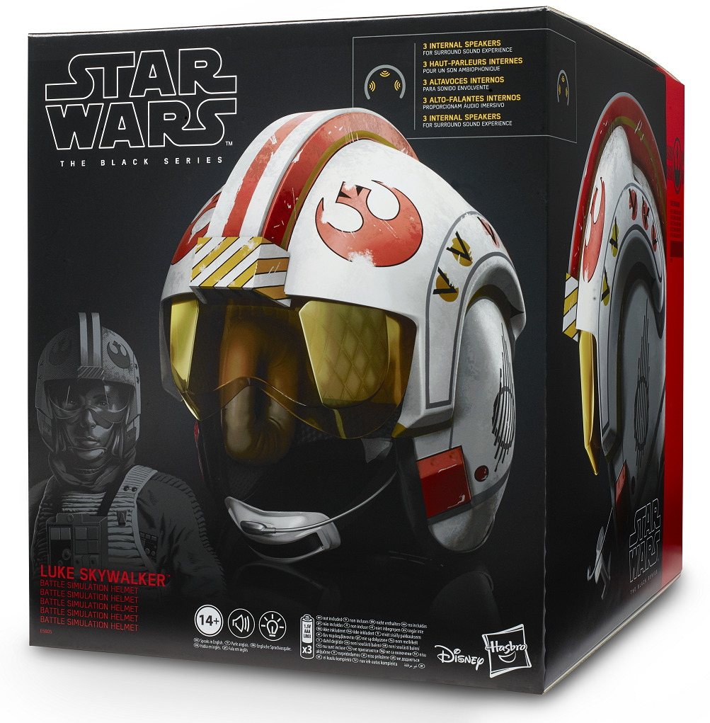 Star Wars Black Series: Luke Skywalker - Battle Simulation Helmet image