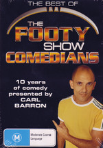The Best Of The Footy Show Comedians on DVD