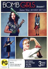 Bomb Girls - Season 1 (3 Disc Set) on DVD