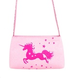 Pink Poppy: Magical Moment Unicorn Shoulder Bag - Pale Pink
