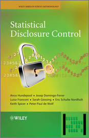Statistical Disclosure Control by Anco Hundepool