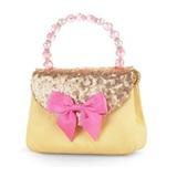 Pink Poppy: Forever Sparkle Hard Handbag (Yellow)