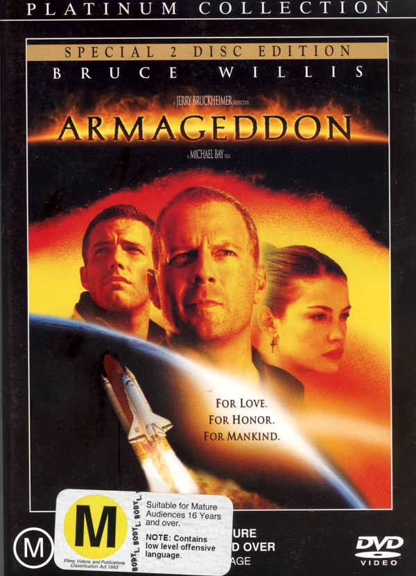 Armageddon (Special Edition) on DVD image