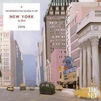 New York in Art 2019 Wall Calendar by Metropolitan Museum of Art the