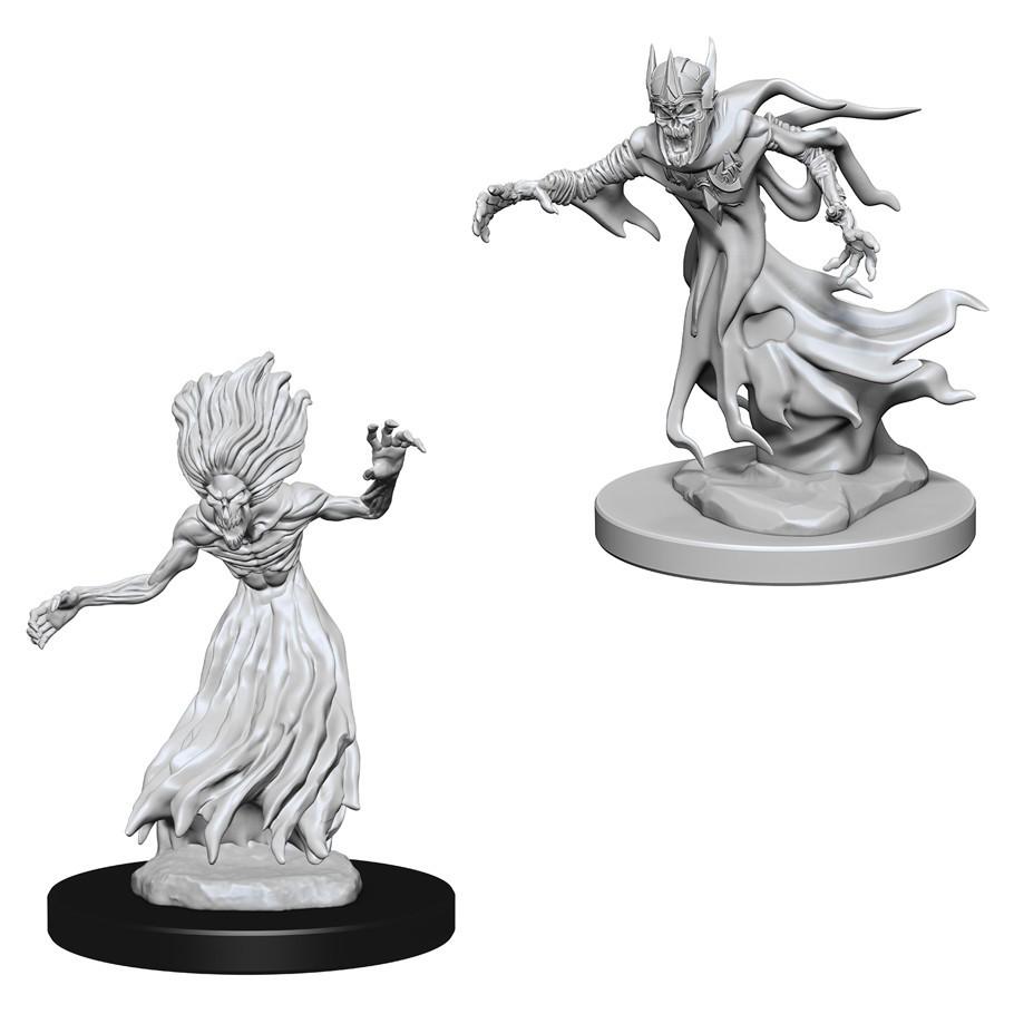 D&D Nolzur's Marvelous: Unpainted Minis - Wraith & Specter image